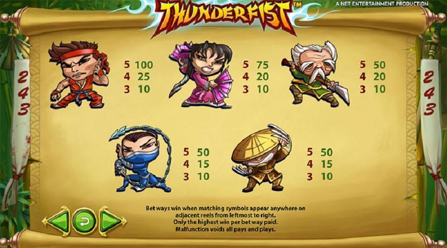 Аппараты Громовой Кулак допускают увеличение ставки и до монет.Самое приятное, что выбрав бесплатный игровой автомат Thunderfist, можно рисковать до бесконечности.