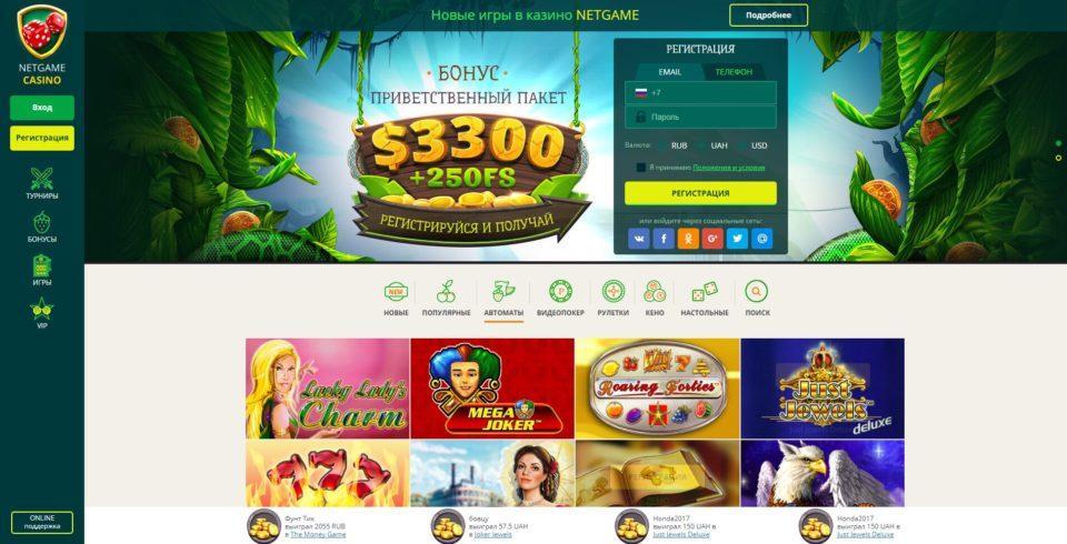 net gaming casino