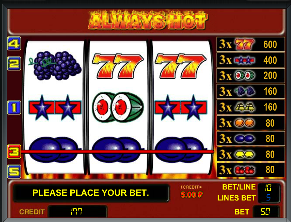 Онлайн игровой автомат always hot играть ffclub онлайн 720 прогноз
