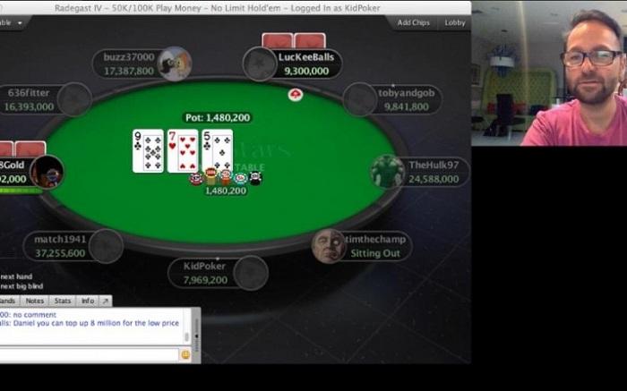 Уроки покера с Даниелем Негреану