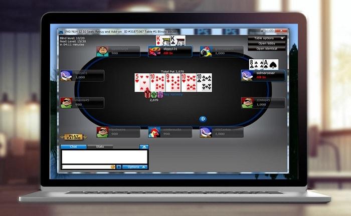 Декстопная версия покерного приложения