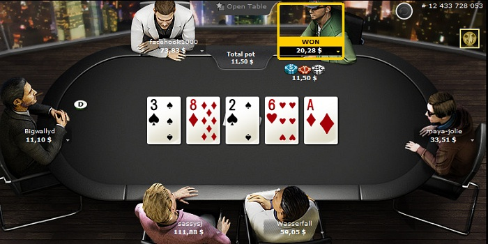 Холдем на компьютере -покерный сайт Бвин
