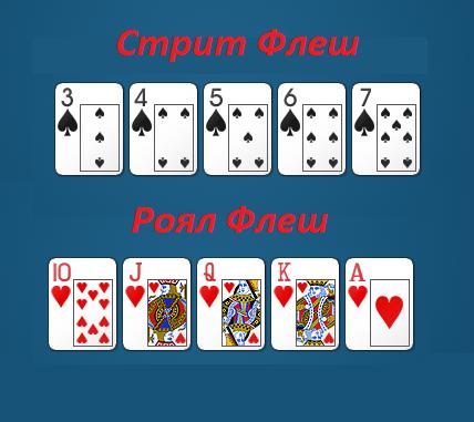 Примеры покерных раскладов