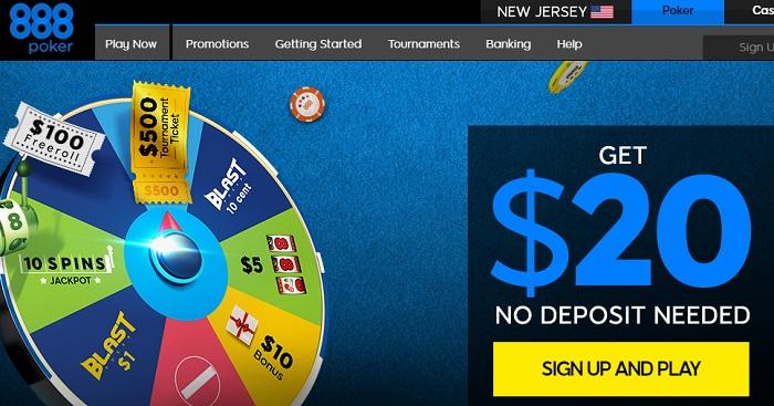 888Poker в Нью-Джерси