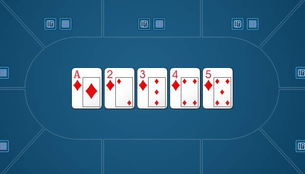 Колесо в покере