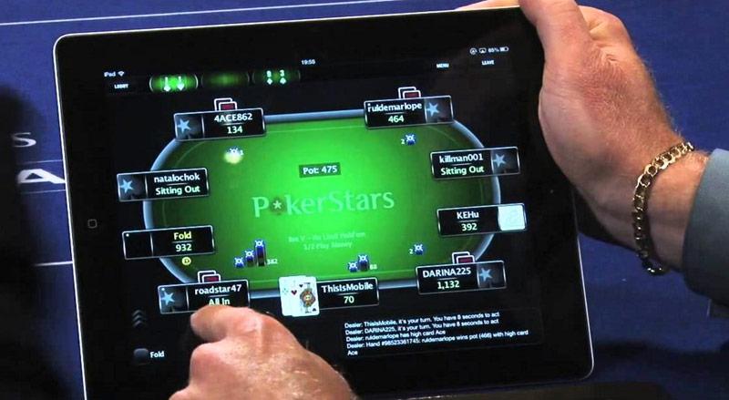 ПокерСтарс на планшете